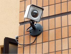 セキュリティーカメラ画像